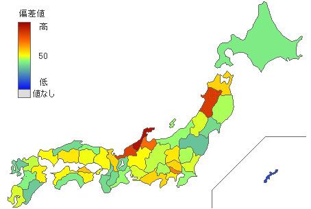 都道府県統計県民性 ... : 中学1年生の数学 : 中学